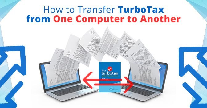 Transfer Turbotax from One Computer to Another